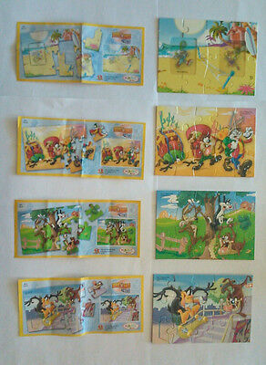4 Looney Tunes active Puzzle + 4 BPZ