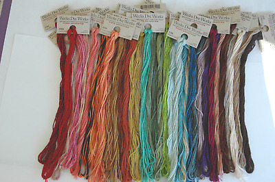 Weeks Cotton Pearl #5---    100-5 yd. skeins
