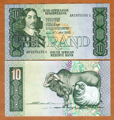 South Africa, 10 Rand ND (1990-1993) P-120e, UNC