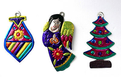 Image result for mexican tin folk art christmas ornaments