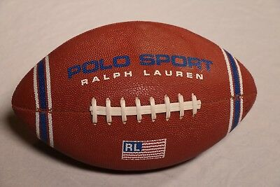 Ralph Lauren Polo Sport Football Vintage 90s Promo Ball