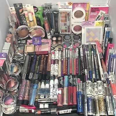 12 WHOLESALE cosmetics makeup joblot maybelline revlon + Christmas clearance new