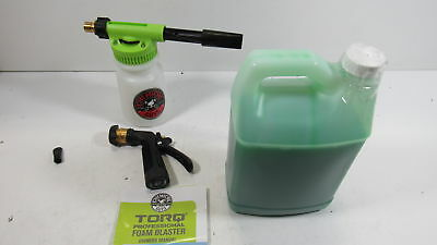 Chemical Guys HOL146 Foam Blaster 6 Foam Wash Gun & Honeydew Snow Foam Auto Wash