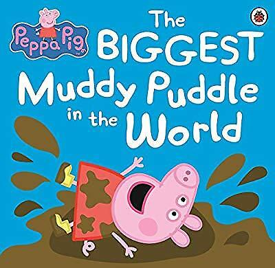 Peppa Pig: The Biggest Muddy Puddle in the World Picture Book, Ladybird, Used; V