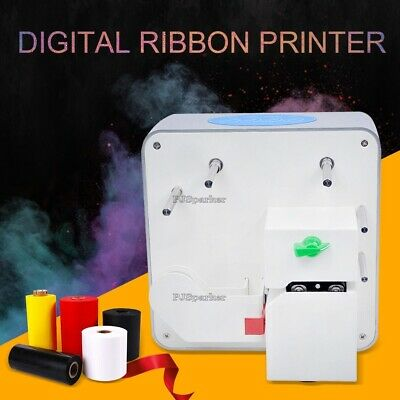 Ribbon Stamping Machine New Beautifully Patterned Logo Ribbon Print 320 Text, bi