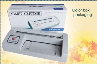 Name Card Cutter Brand New Automatic Name Card Slitter 300B Business Card hi