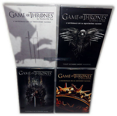 Game of Thrones  complete seasons 1,2,3,4 [DVD] 20-Disc Set, Englischer Ton