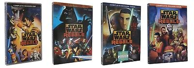 Star Wars Rebels 1 2 3 4: Complete Animated TV Series Seasons1-4  (14 DVD ) 1234