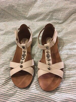 4f7e082b9 Ladies Clarks Leather Artisan Raffi Scent White Sandals - UK 6.5D - Jewel  Detail