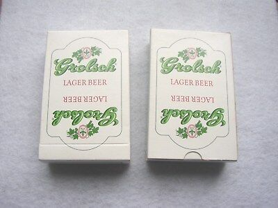 Grolsch Lager Beer Playing cards, 2 decks
