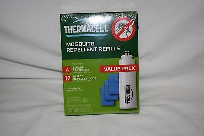 New ThermaCell Mosquito Repeller Refill - 48 Hour Value Pack R-4