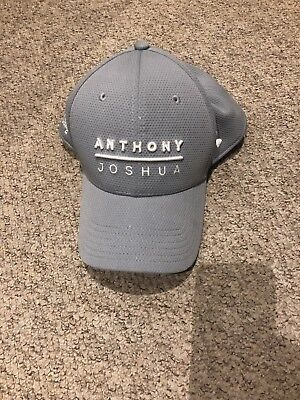 3592a5e43 ANTHONY JOSHUA UNDER Armour Cap Grey- Limited Edition