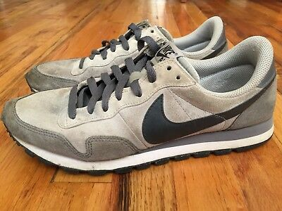 29f5ee8f8950 Nike Air Pegasus 83 Sz 9 Running Vintage Grey Shoes Retro Leather 616324-006