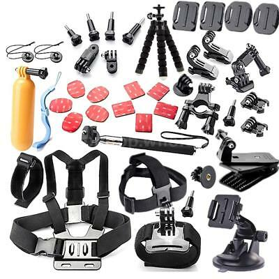 44in1 Sports Camera Accessory Kit for Xiaomi Yi/Yi 4 k SJ7000 EKEN H9R H8W N4K2