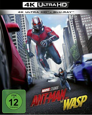 Ant-Man and the Wasp - 4K Ultra HD # UHD+BLU-RAY-NEU