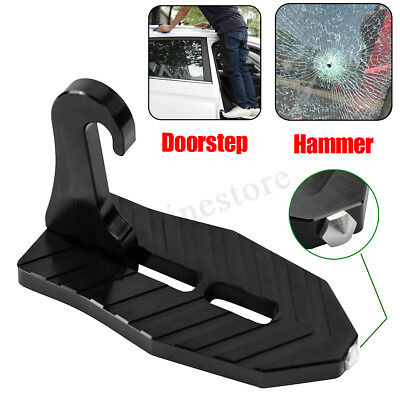 Universal Aluminum Doorstep Car Roof Ladder Foot Stand  Step To Access Carrier