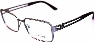 1b682cd4d3 VERSACE GLASSES FRAMES 1236 1378 Matte Brown and Pale Gold 55mm Mens ...