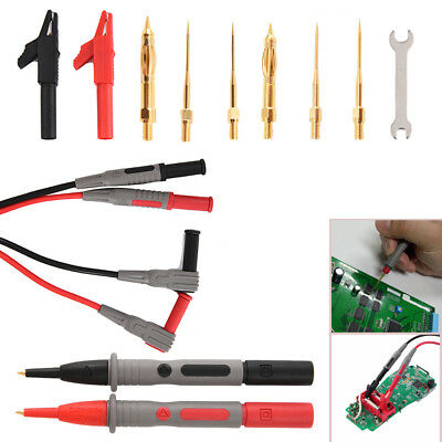10-in-1 Electronic Professional Test Lead Kit Multimeter Accessory Kit FAM