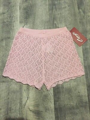 Capezio Ballet / Dance Sweater Shorts - NEW - child size small 4/5 & large 12-14