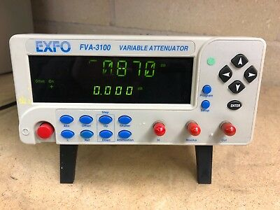 Exfo FVA-3100 Variable Attenuator ( OPTICAL )1200 to 1650nm