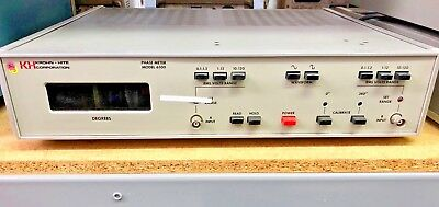 Krohn Hite Corporation 6500 Phase Meter  Kh