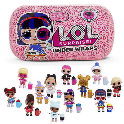 L.O.L Surprise Doll Under Wraps Series Eye Spy Capsule Toys Tots Innovation Doll