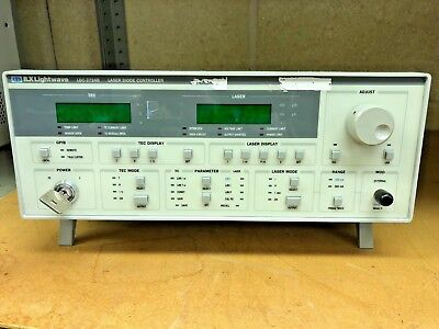 ILX LIGHTWAVE LDC-3724B Laser Diode Controller, 200 / 500mA Current Source, 32W