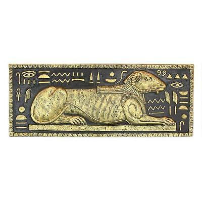 Egyptian God of the Nile Khnum Wall Relief Plaque Sculpture Replica Reproduction