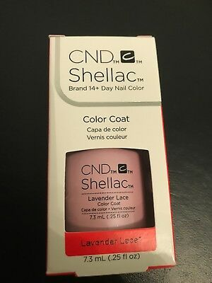 Cnd Shellac Uv Nail Polish New Lavendar Lace