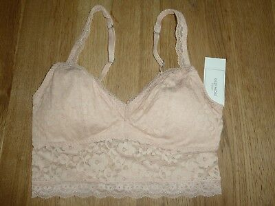 dae32583b2 NEW HOLLISTER GILLY Hicks Women s Lace Longline Bralette Bra Size S ...
