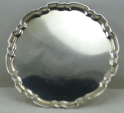 "Vintage Tiffany & Co. Makers 23336 Small 6"" Trinket Plate Sterling Silver 152 G"