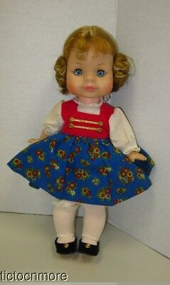 Vintage Madam Alexander Sound Of Music Gretl Doll Tagged Outfit 11""