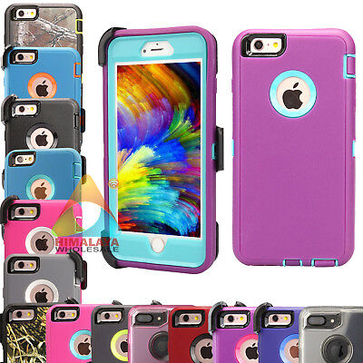 For Apple iPhone 6 6S Plus Case (Clip fits Otterbox Defender) P50 Shockproof