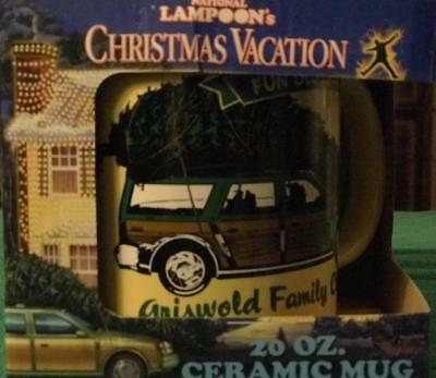 NATIONAL LAMPOON'S Christmas Vacation - Mug Griswold Family XMas BN Free Shp.