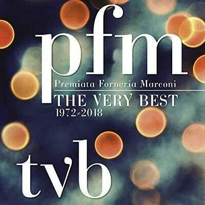 P.F.M. - TVB: The Very Best [New CD] With Booklet, Boxed Set, Italy - Import