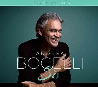 Andrea Bocelli - Si [New CD] Deluxe Ed, Italy - Import