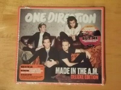 ONE DIRECTION Made In The A.M. Deluxe Edition Digipak 4 Bonus Tracks Brand New