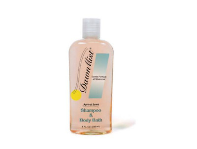 McK DawnMist® Shampoo and Body Wash Apricot Scent Squeeze Bottle 8 oz