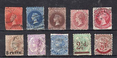 South Australia - 1856-1893 - used collection