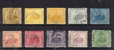 Western Australia - 1861-1885 - used collection