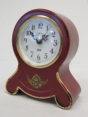 German Schmidt Mantel Clock Swiss Reuge Musical Movement, Non-Working - FIS P6