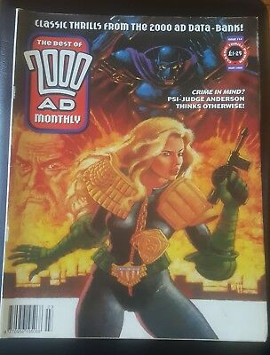 BEST OF 2000AD MONTHLY #114 1995 - Anderson PSI Division 2000 AD Megazine