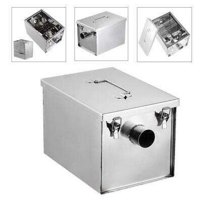 High-quality 8LB 5GPM Gallons Per Minute Grease Trap Stainless Steel Interceptor