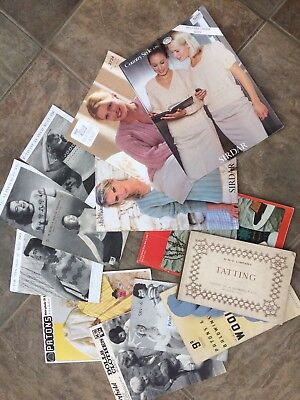 Job Lot of Assorted Vintage Knitting Patterns & Booklets - Dolls - Baby - Adult