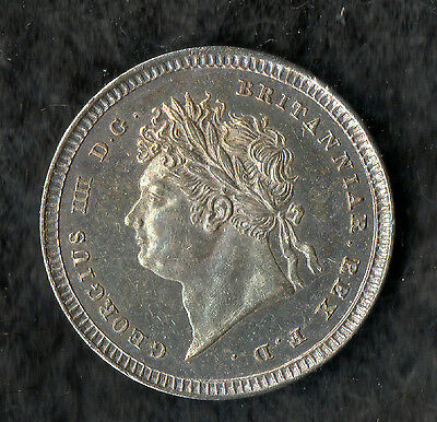 George IV Maundy Twopence Silver 1824