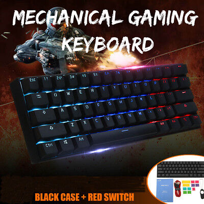 Obins ANNE PRO 2 Gateron Switch RGB 60% meccaniche Gaming tastiera Bluetooth USB