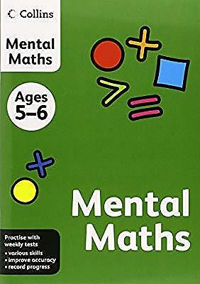 Collins Mental Maths: Ages 5-6 (Collins Practice), HarperCollins UK, Used; Good