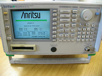 ANRITSU MS2661A SPECTRUM ANALYZER 9 kHz - 3 GHz SPEC AN