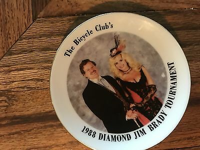 The Bicycle Club's Diamond Jim Brady Tournament Ashtray 1988