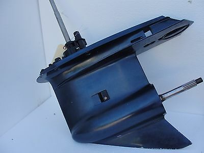 "LH Johnson Evinrude 150 175 hp Outboard 25"" Motor Lefthand Counter CR Lower Unit"